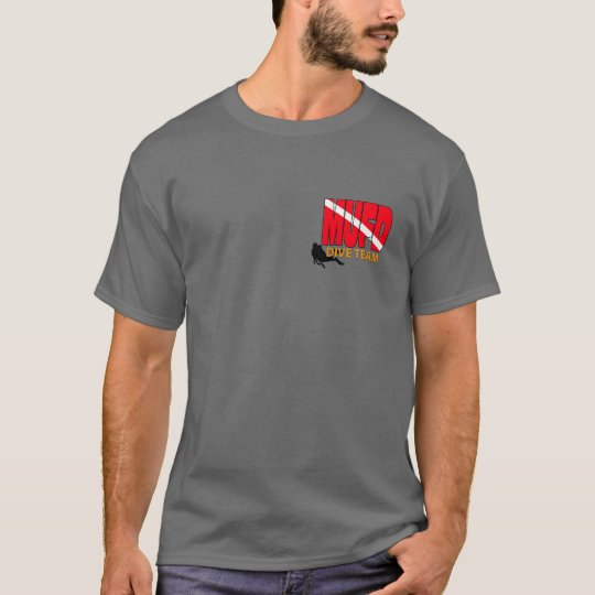 MUFD SCUBA Rescue & Recovery Team T-Shirt