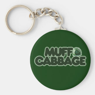 Muff Cabbage Key Chains