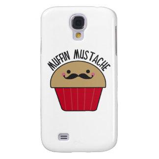Muffin Mustache Galaxy S4 Case