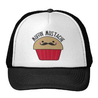 Muffin Mustache Mesh Hats