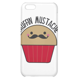 Muffin Mustache iPhone 5C Covers