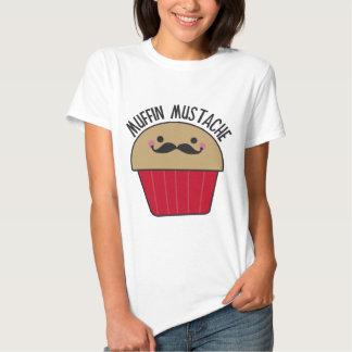 Muffin Mustache Tshirt