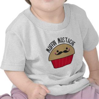 Muffin Mustache T Shirts