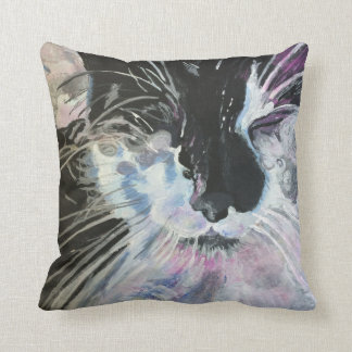 Muffin the cat cushion