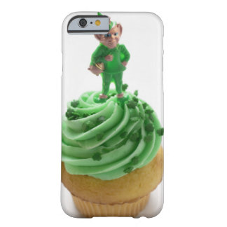 Muffin with green cream for St. Patrick's Day Barely There iPhone 6 Case