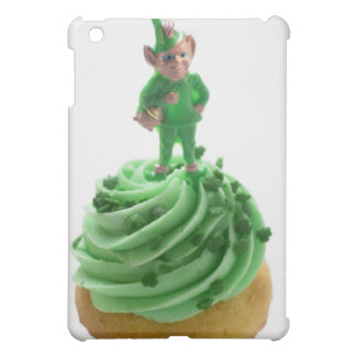 Muffin with green cream for St. Patrick's Day iPad Mini Covers