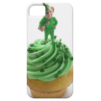 Muffin with green cream for St. Patrick's Day iPhone 5 Case