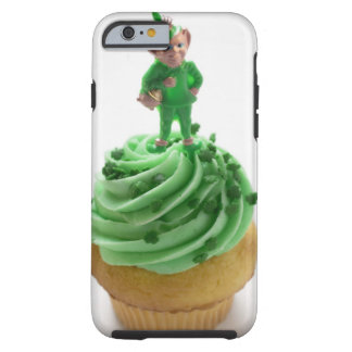 Muffin with green cream for St. Patrick's Day Tough iPhone 6 Case