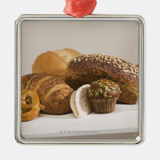 Muffins and dinner rolls christmas ornament