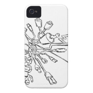 Muffler Action iPhone 4 Case
