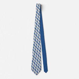 muffler: I'm blue Tie