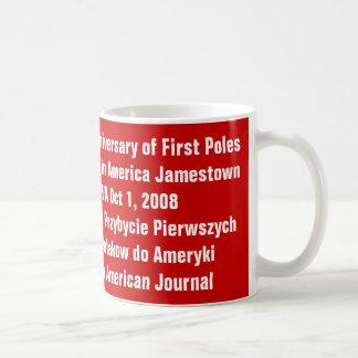 Mug, 400th Anniversary of First Po... - Customized Basic White Mug