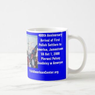 Mug, 400th Anniversary of First Polish Settlers Basic White Mug