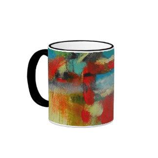 """Mug, Abstract Art """"Adrenalin Rush"""""""