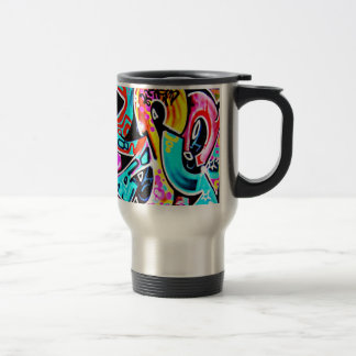 Mug-Abstract-Graffiti Gallery-1 Travel Mug