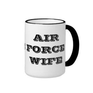 Mug Air Force Wife