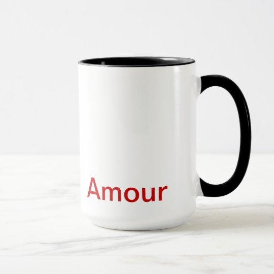"""mug, """"Amour"""", Art Mug"""