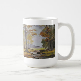 Mug Ann Hayes Painting Forest Stream