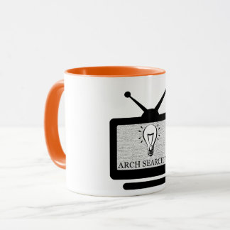 Mug Arch Search TV - 325ml