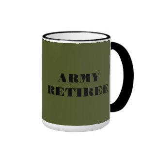 Mug Army Retiree