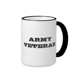Mug Army Veteran
