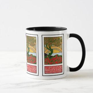 Mug:  Art Nouveau Poster - La Libre Esthetique