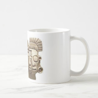 Mug: Aztec mask Basic White Mug