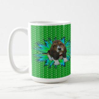 Mug Baby Basset Hound Sheldon Basic White Mug
