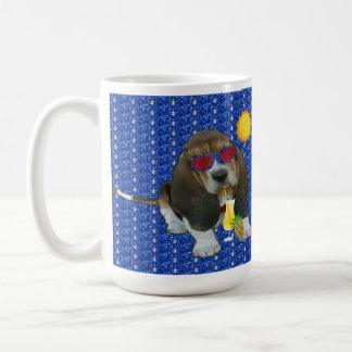 Mug Baby Basset Hound Summer Time
