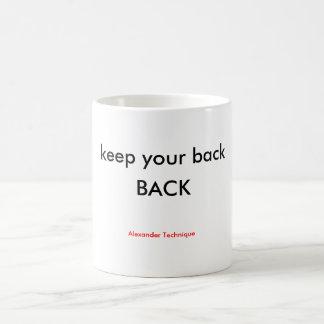 Mug - back back