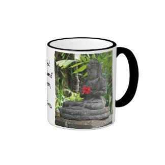 Mug:  Bali Statue Ringer Mug