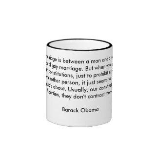 Mug-Barack Obama Ringer Mug