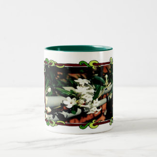 Mug-Beautiful Stephanotis Vine Two-Tone Coffee Mug