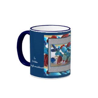Mug, beverage - Coral Blues 2