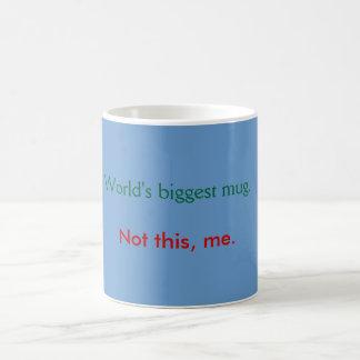 Mug - big mug blue
