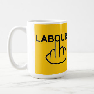 Mug Bird Flipping Labour Flip