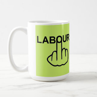 Mug Bird Flipping Labour Flip