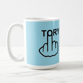 Mug Bird Flipping Tory Flip