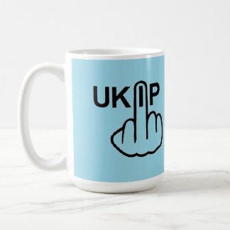 Mug Bird Flipping UKIP Flip