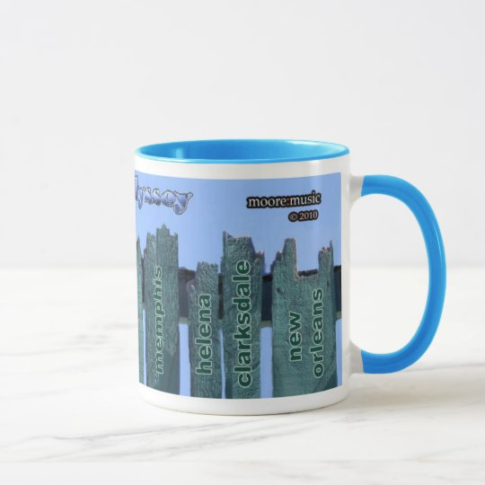 "Mug ""Blue Odyssey"" - The Fence"