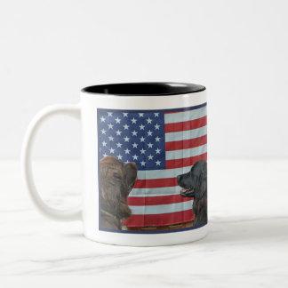 Mug~ Border Patrol Two-Tone Mug
