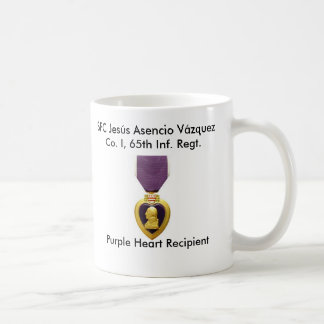Mug Borinqueneers - Purple Heart