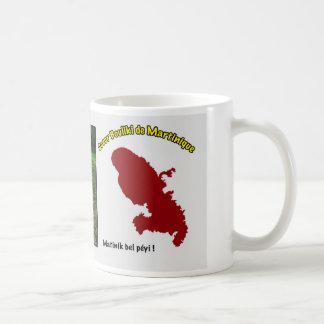 Mug: Bouliki heart of Martinique Basic White Mug