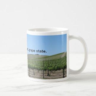 Mug: California is a Great Grape State Basic White Mug