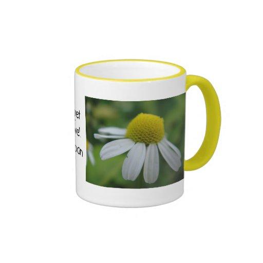 "Mug chamomile ""get well soon"""