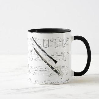 Mug - Clarinets with sheet music