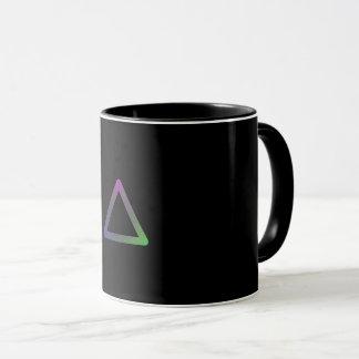 "Mug Colorful Geometry ""Triangle """