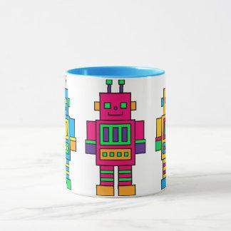 Mug Colorful Robots