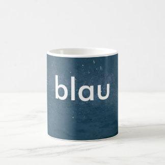 mug: colors german blue (blau) coffee mug