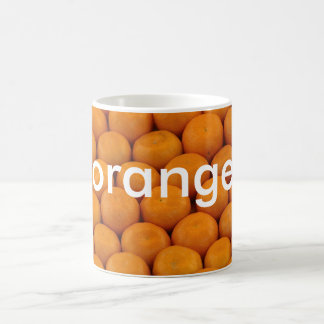 mug: colors german orange (orange) coffee mug